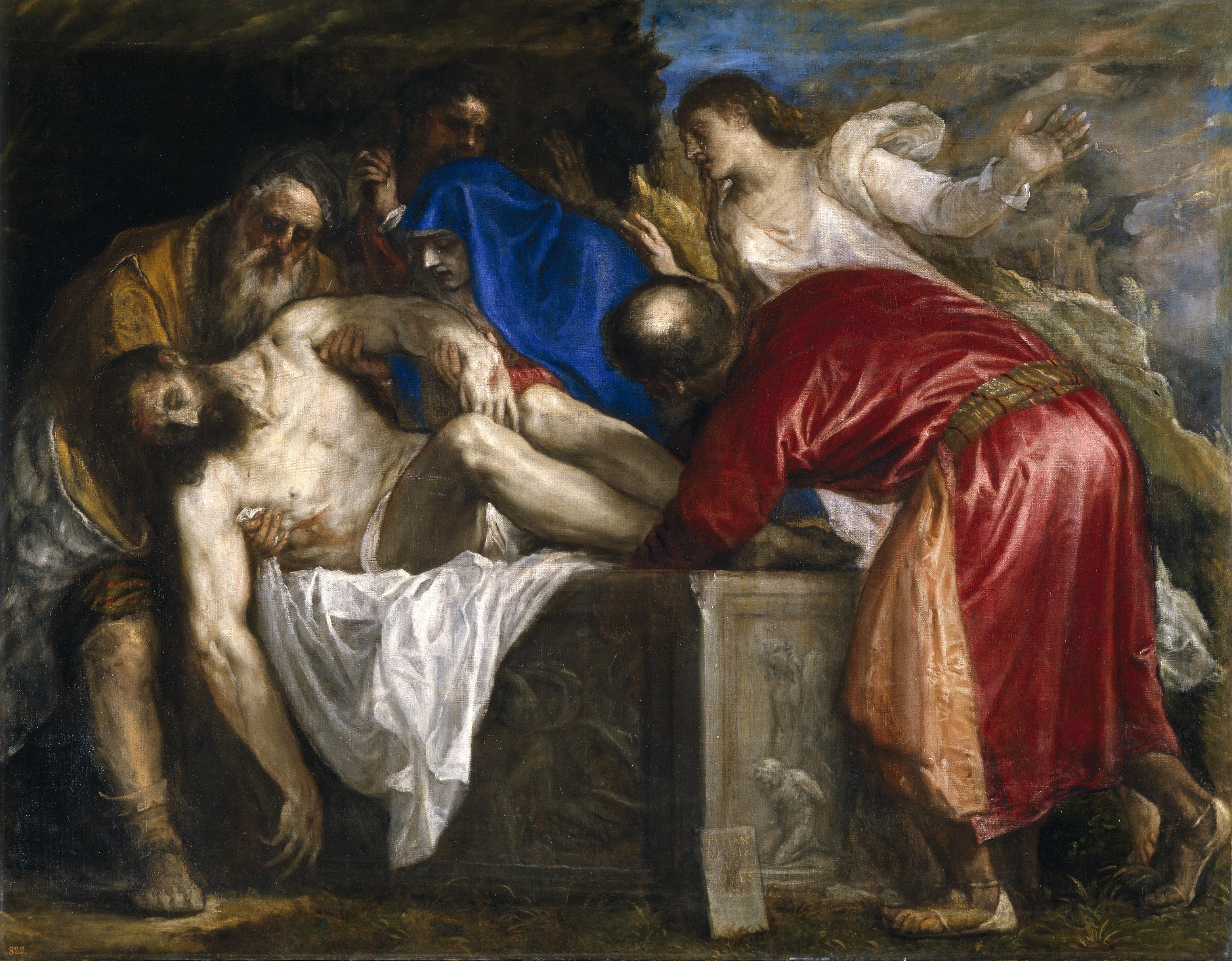 Sulla tomba di Cristo