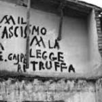 """La """"legge truffa""""  (E leggi to' ladro)  –  Comizio del 1953"""