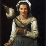 La vecchina con la conocchia (E vekkiareddha min allakai)